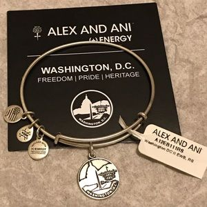 Alex and Ani Silver Washington D.C.